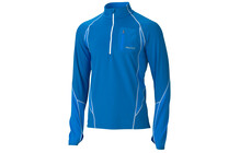 Marmot Men's Helix 1/2 Zip LS cobalt blue